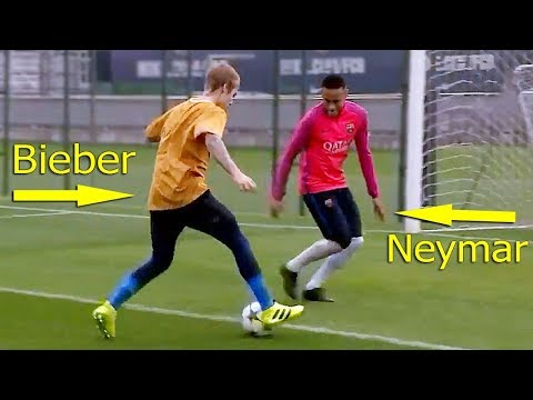 Celebrities Playing Football 鈥� Amazing Skills