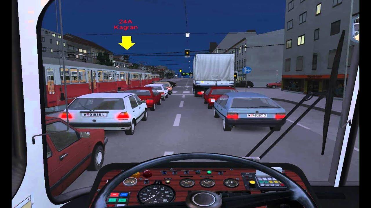 Omsi Bus Simulator Addon Wien Traffic Jam Or Bug Youtube
