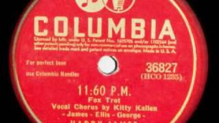 KITTY KALLEN - 11:60 P.M. - HARRY JAMES
