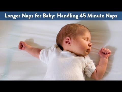 Longer Naps for Baby: Handling 45 Minute Naps   CloudMom