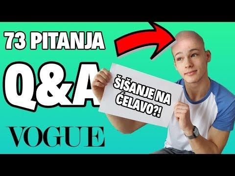 ŠIŠAM SE NA ĆELAVO?! (nije clickbait)   73 pitanja   Bruno Lukić