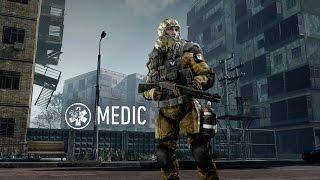 Warface: как научиться играть за класс медик (урок №1)