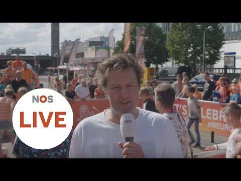 LIVE: Oranjefans verzamelen zich voor halve finale