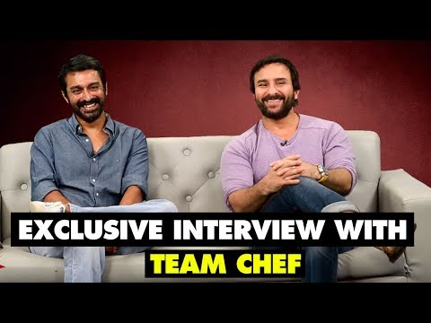 Exclusive Interview with Team CHEF | Saif Ali Khan | SpotboyE