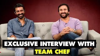 Exclusive interview with team chef | saif ali khan interview | spotboye