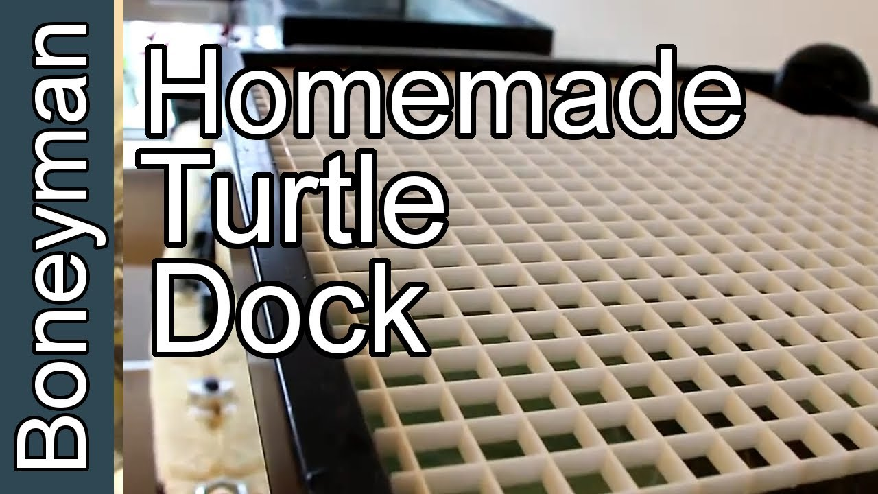 How To Make A Turtle Dock In 3 Steps Measure Cut Tie