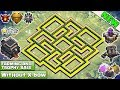 Clash of Clans | TH8.5 FARMING AND TROPHY Base 2018 | CoC Town Hall 9 Hybrid Base without Xbows