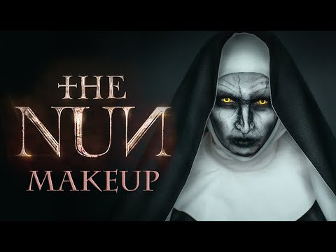 The NUN   VALAK Makeup Tutorial   Prank The Nun 2018   Валак - макияж на хэллоуин   Пранк
