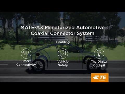 Miniaturized Automotive Coaxial Connectors - MATE-AX