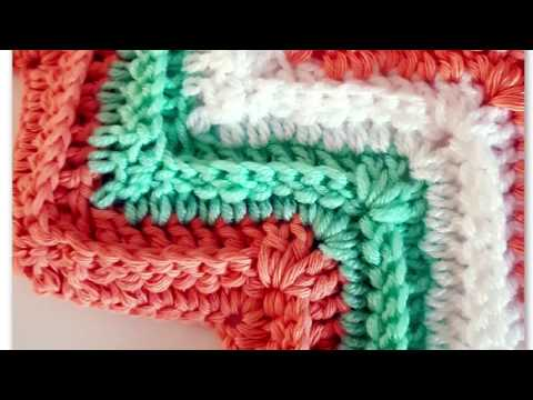 Stitch of the week #9: Ripple stitch with DC & BPDC