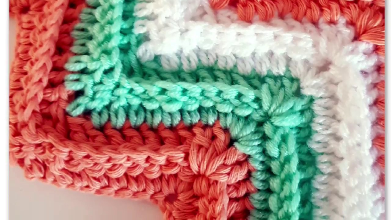 Stitch of the week #9: Ripple stitch with DC & BPDC - YouTube