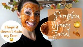 DIY Pumpkin Honey Facial!!!