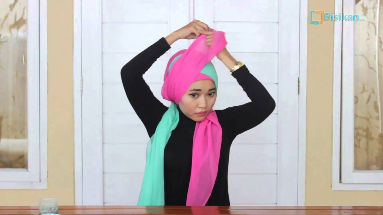 Turban Hijab Tutorial Untuk Pesta YouTube