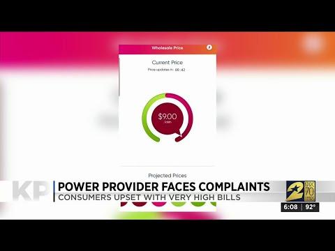 Power provider faces complaints