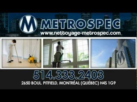 Metrospec Commercial Cleaning Services Montreal