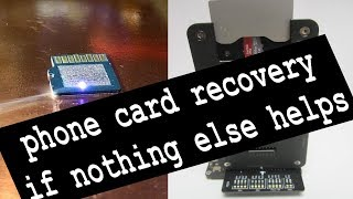 data recovery from micro SD card,  if the card stopped working and formatting not works to fix it
