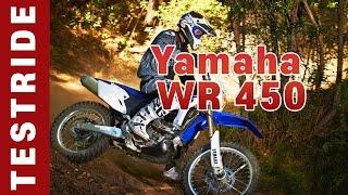 Обзор Yamaha WR 450