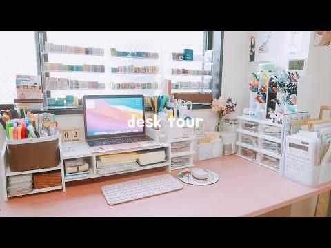 ☁️ desk setup : stationery collection | maiden manila