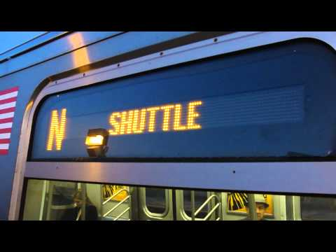 BMT Astoria Line: Queensboro Plaza bound R-160B N local train @ 36th Avenue-Washington Avenue!