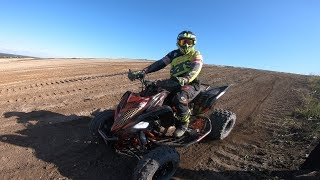 Raptor 1000cc / Africa twin / Off road riding/Crash ATV