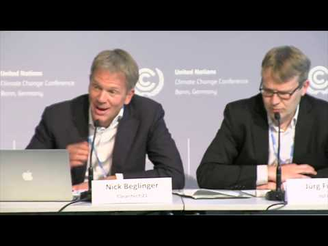 Nick Beglinger, Carbon Pricing & Blockchain Comment (Press Conference, SB46, 17/05/2017)