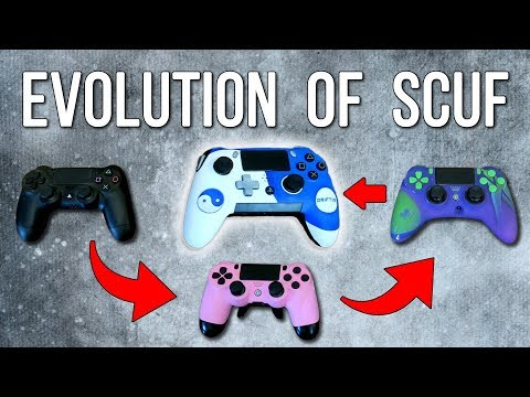 Evolution Of The Scuf Controller