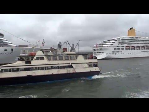 OCEANA, ADONIA, AZURA, ORIANA, AURORA, ARCADIA, VENTURA  in Southampton 2012