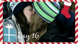 Vlogmas 2016, Day 16. Seahawks game, breathalizers and epic falls