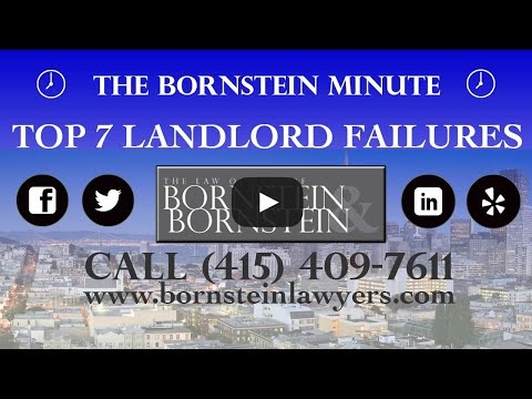 The Top 7 Landlord Failures - The Bornstein Minute