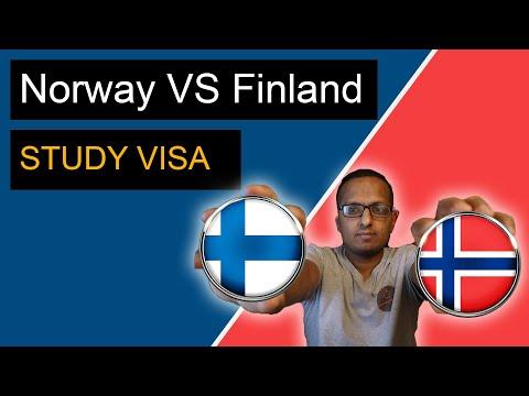 फिन्ल्यान्ड  कि नर्वे बिद्यार्थीको लागि कुन राम्रो? || Study in Finland Vs Norway || Bideshma Nepali