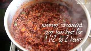 Meat Sauce For Lasagne Recipe - Allrecipes.co.uk