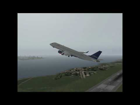 Jet Blue Plane Crash in Ocean
