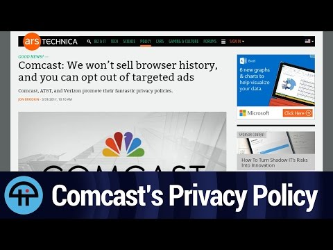 Comcast's Privacy Policy