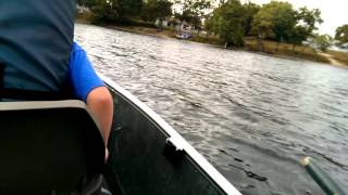 12ft Aluminum Flat Bottom Boat First Test Drive