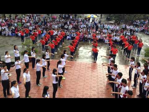 Dân vũ trống cơm- 11A1(2014-2015)-THPT PHAN BỘI CHÂU- Cam Ranh, Khánh Hoà