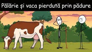AVENTURI CU VACA: Pălărie Și Vaca Pierdută Prin Pădure