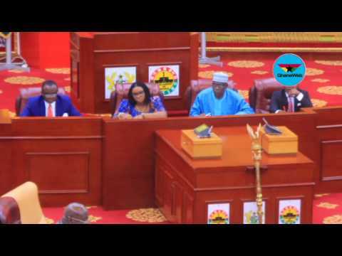 FULL VIDEO: Charlotte Osei appears before Parliament