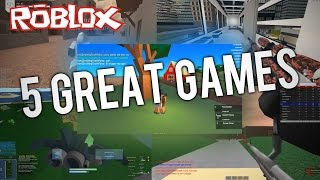 5 Tolle Spiele in ROBLOX!