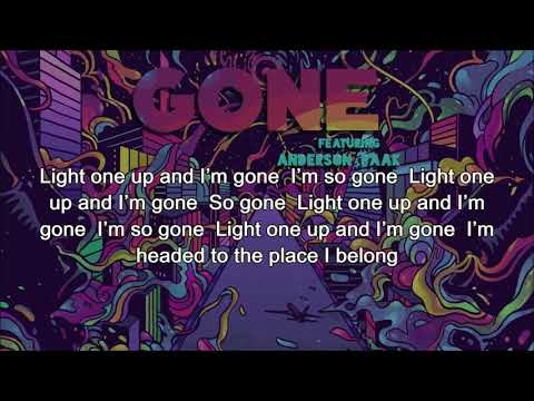 Mr. Probz feat. Anderson .Paak - Gone [Simple Lyrics] NEW! 2017