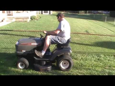 The Lt1000 Lawn Tractor Its Features Accessories And Where To >> Craftsman Lt1000 Lawn Tractor For Sale Video 2