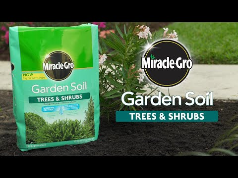 How To Use Miracle Gro Garden Soil For Trees Shrubs