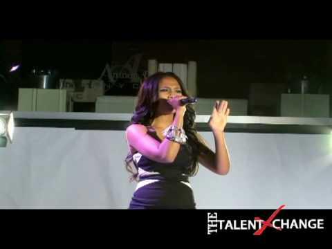 Teairra Mari  performs live