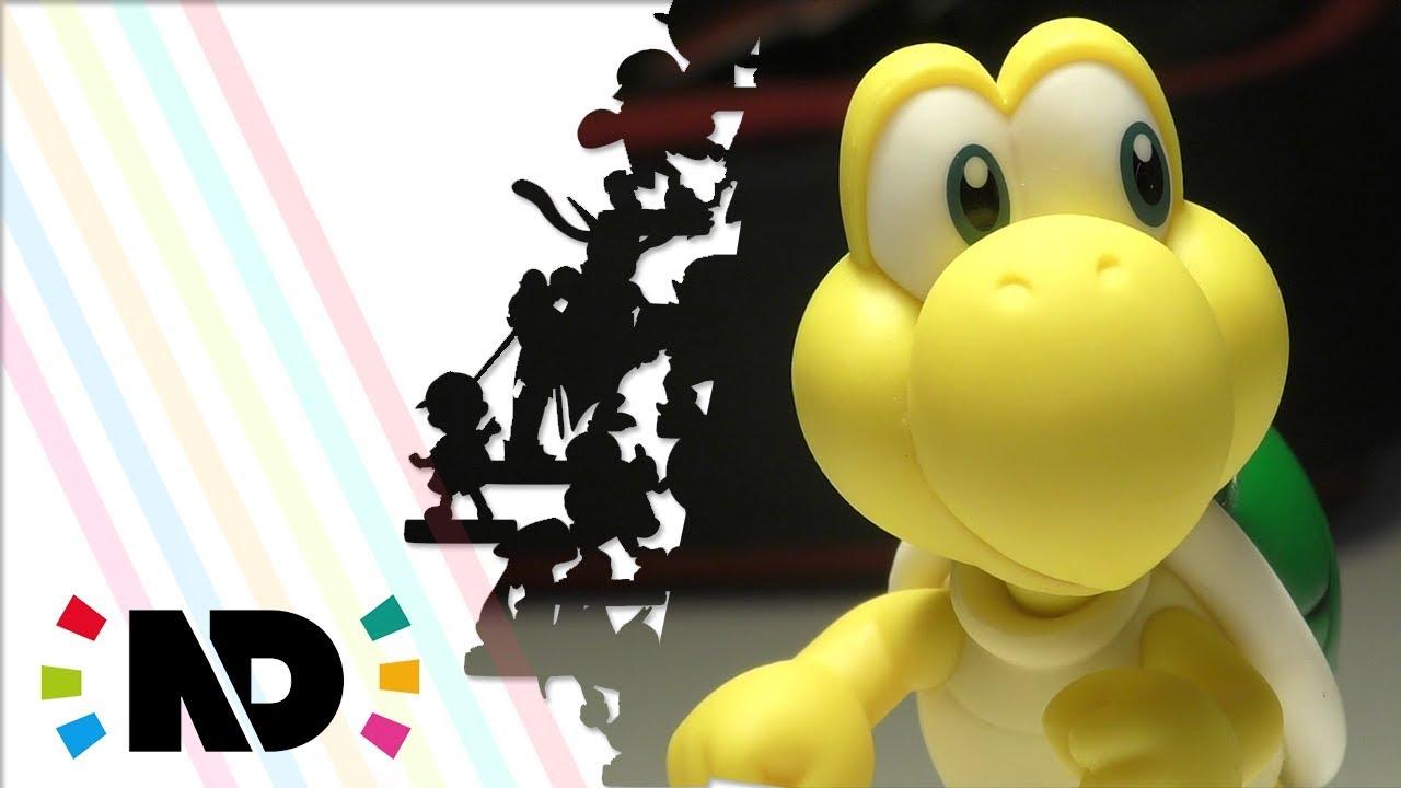 Unboxing Super Mario Koopa Troopa Goomba Amiibo Youtube
