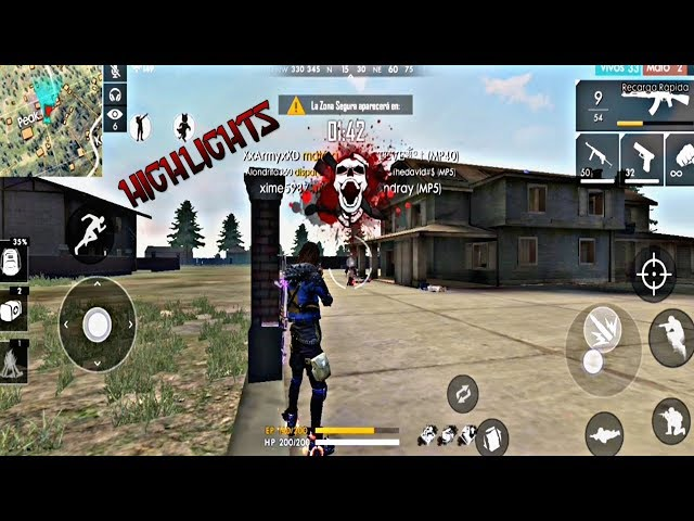 HIGHLIGHTS #2|MP40,M1014 HEADSHOT | FREE FIRE