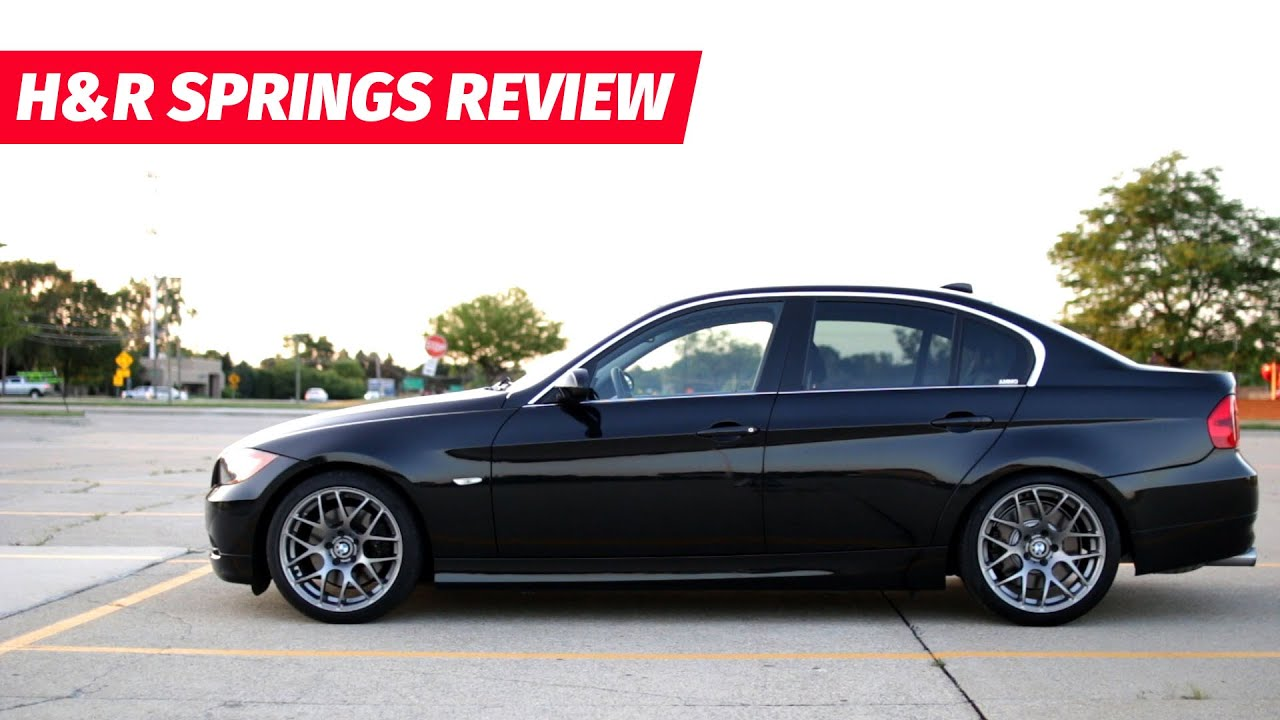 H Amp R Sport Lowering Springs Review Youtube