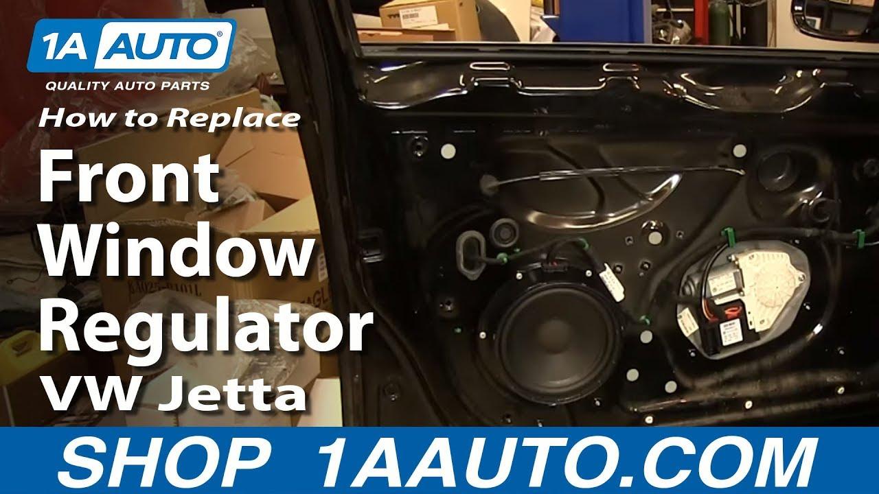 How to Replace Window Regulator 0510 Volkswagen Jetta