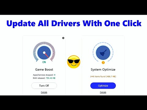 Update All Drivers + Game Components With One Click | Driver Booster