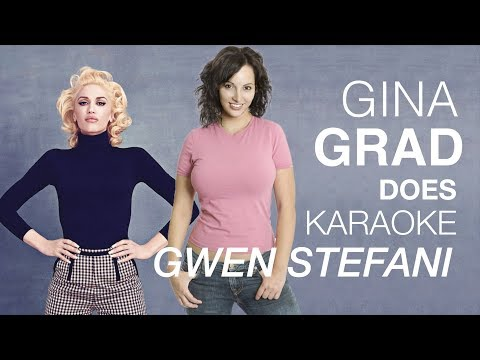 Gina Grad does Gwen Stefani