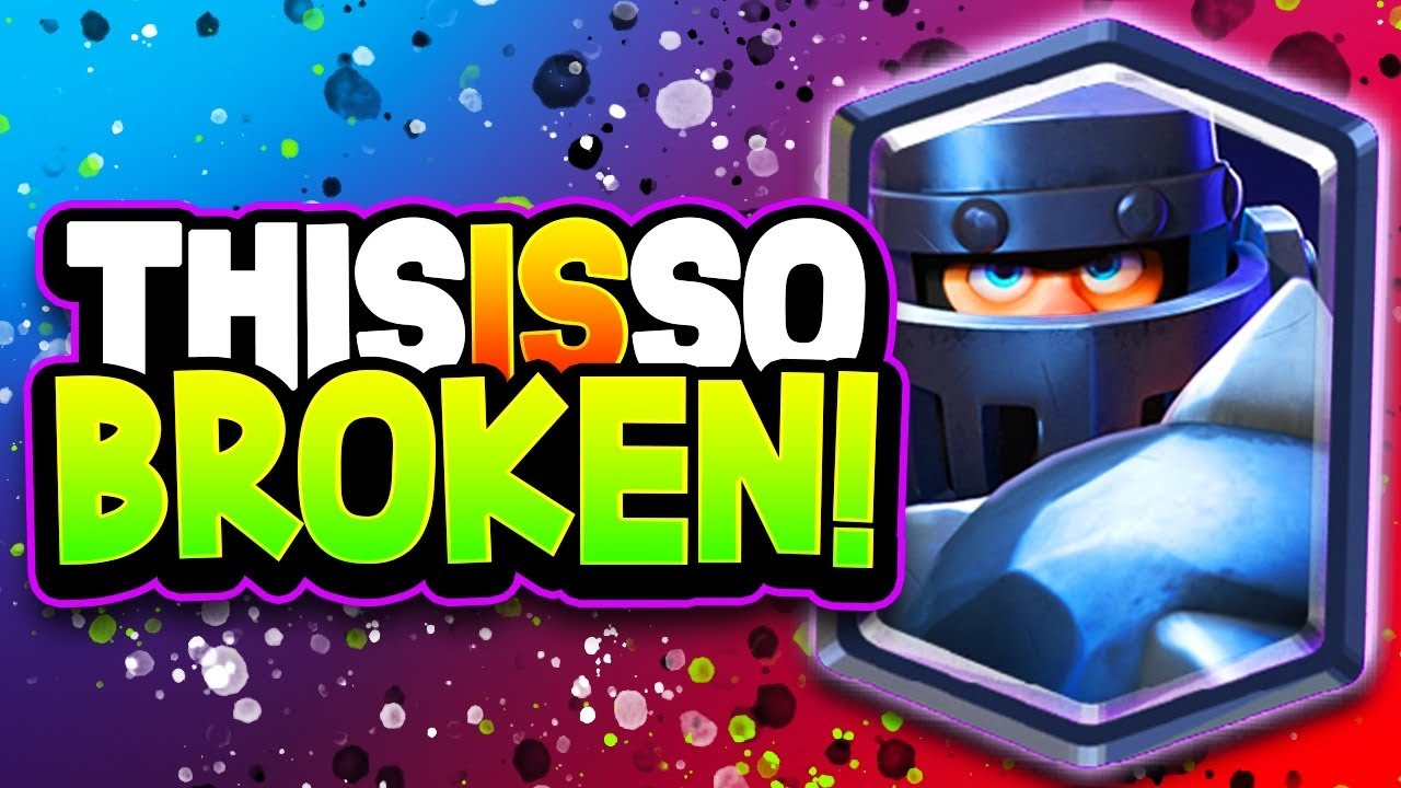 THIS MEGA KNIGHT DECK is LIKE CHEATING!