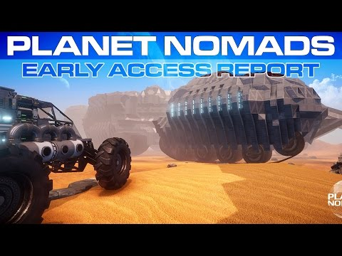 Planet Nomads - What to Expect in Alpha & Game Information (The EAR)